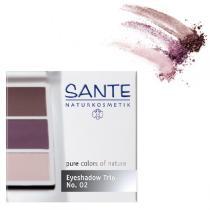 Santé - Eyeshadow Trio aubergine Nº 02