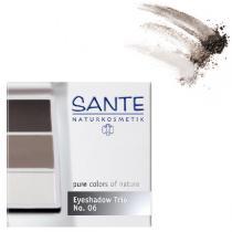 Santé - Eyeshadow Trio smokey eyes Nº 06