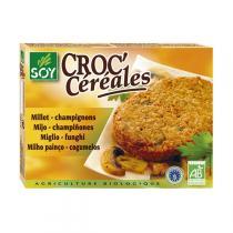 Soy - Croc Céréales Millet Champignon 2x100gr