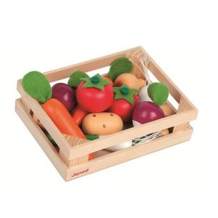 Janod - 12 Vegetable Crate