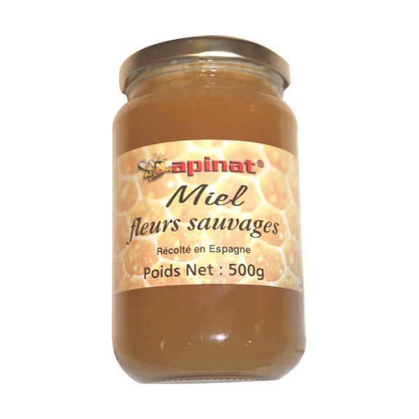 Apinat - Miel de Fleurs sauvages Bio Espagne 500g