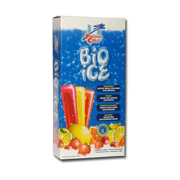 Bio Ice - 10 Glaces à préparer 4 Parfums
