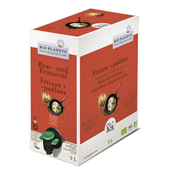 Bio Planète - Huil de cuisson Friture + Poêlées 3L
