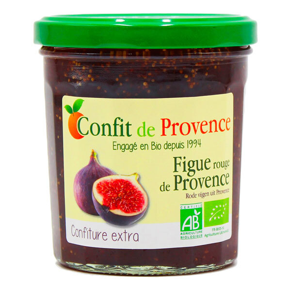 Confit de Provence - Confiture extra de Figue Rouge 370g