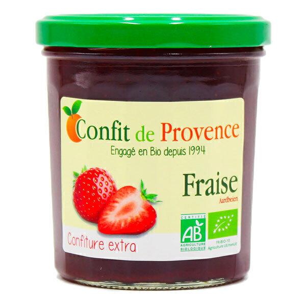 Confit de Provence - Confiture extra de Fraise 370g