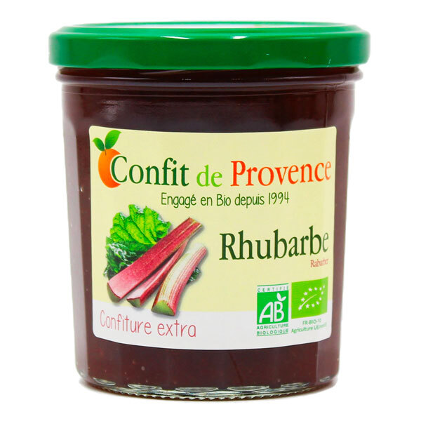 Confit de Provence - Confiture extra de Rhubarbe 370g