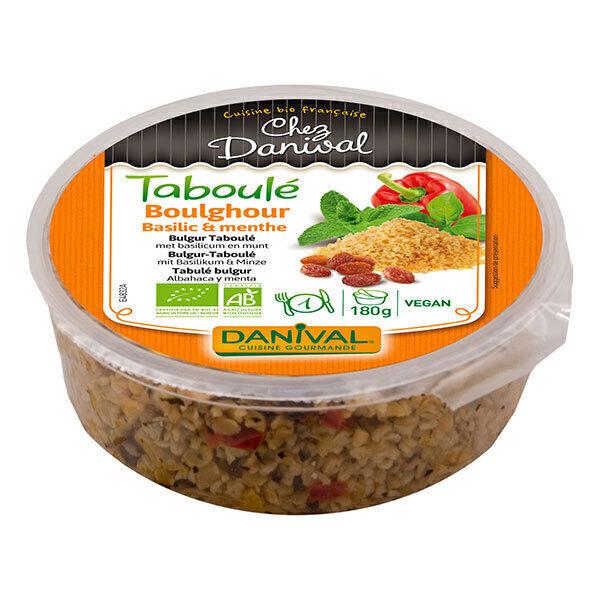 Danival - Taboulé de Boulghour basilic et menthe 180g