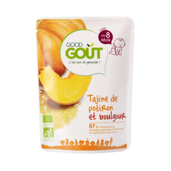 Good Gout - Plat Préparé Tajine de Potiron et Boulgour 8 mois 190g