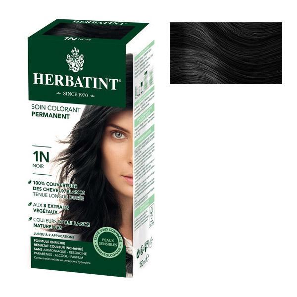 Herbatint - Soin colorant permanent 1N Noir