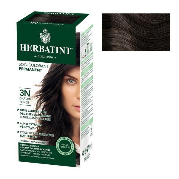 Herbatint - Soin colorant 3N Chatain Foncé
