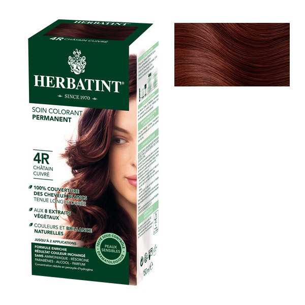 Herbatint - Coloration Naturelle 4R Chatain Cuivre