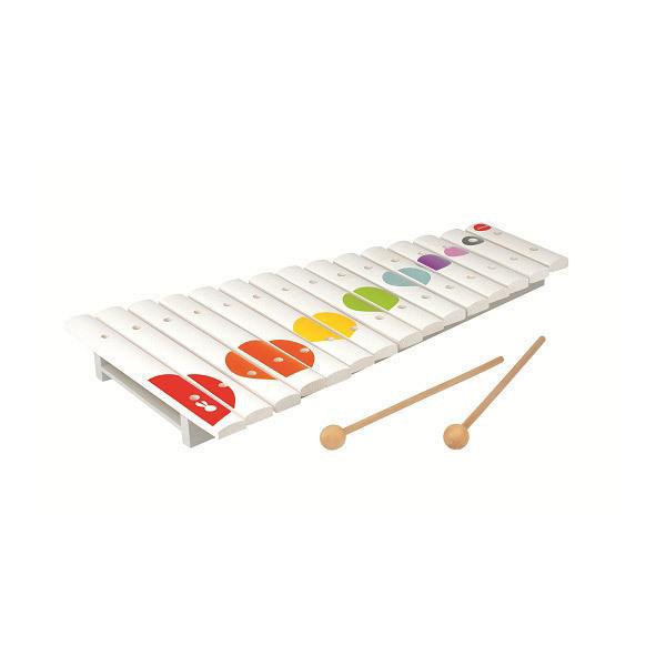grand xylophone en bois confetti janod acheter sur. Black Bedroom Furniture Sets. Home Design Ideas