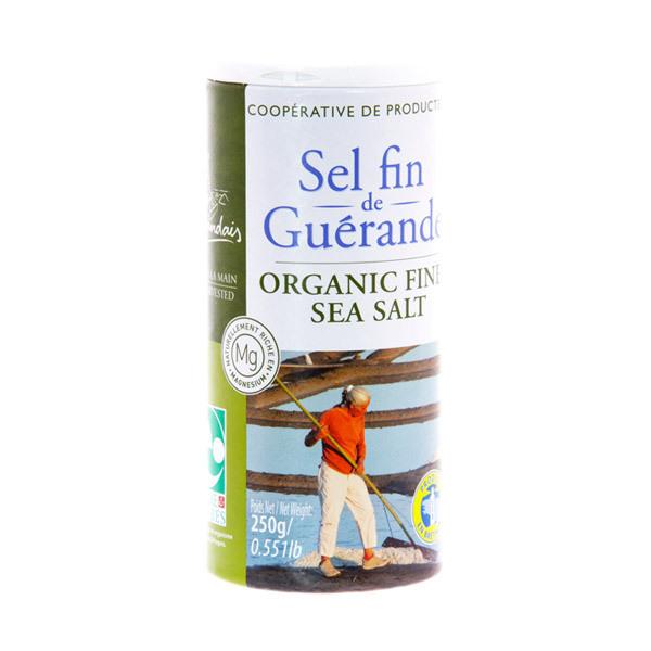 Le Guérandais - Sel fin de Guérande boite verseuse 250g