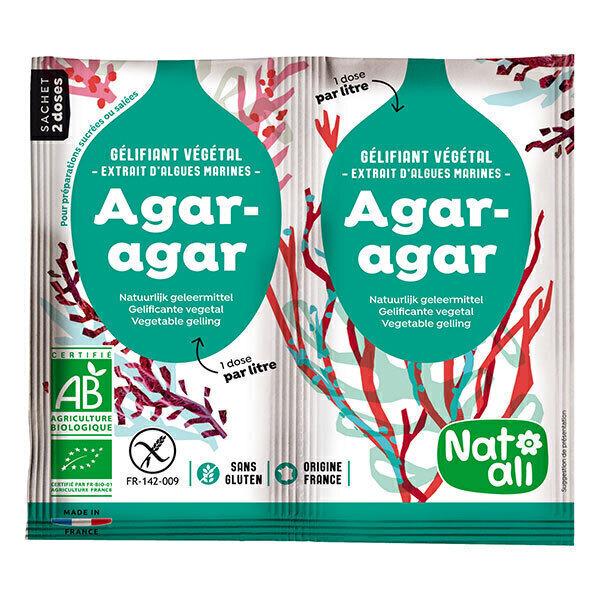 Natali - Agar-agar Bio 2 x 4g