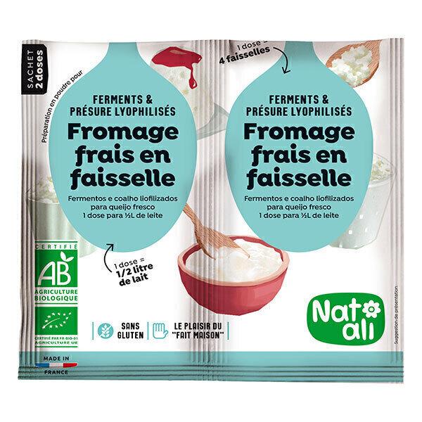 Natali - Ferment Préparation Fromage Frais 2x6g