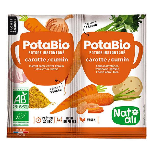 Natali - Potage Bio Carottes Cumin 2 x 8,5 gr