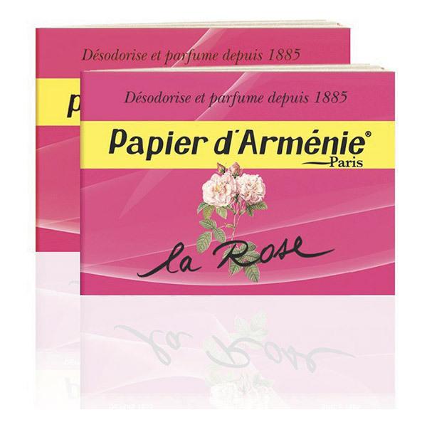 Papier Arménie - Carnet Papier d'Arménie La Rose