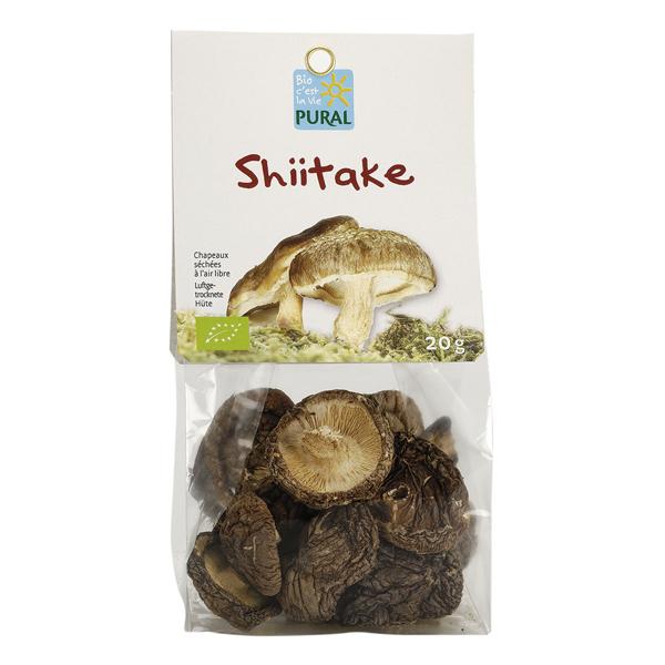 Pural - Shiitake séché 20g