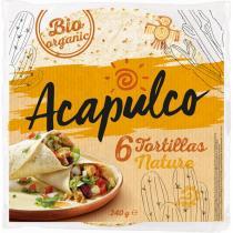 Acapulco - Tortilla Wraps x6 240g