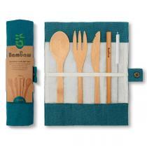 Bambaw - Set de couverts réutilisables en bambou Lagon