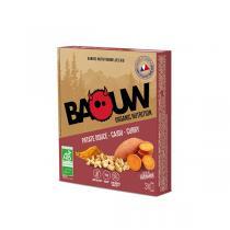 Baouw - Barres patate douce cajou curry 3x25g