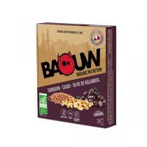 Baouw - Barres sarrasin cajou olive de Kalamata 3x25g