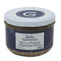 Belle Garonne - Pâté aux pointes d'asperges vertes 190g