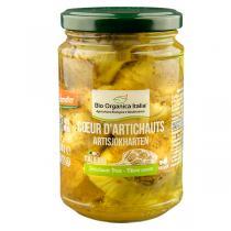 Bio Organica Italia - Coeurs d'artichauts grillés 280g