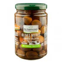 Bio Organica Italia - Olives noires entières 280g