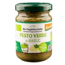 Bio Organica Italia - Pesto vert au basilic 140g