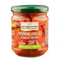 Bio Organica Italia - Poivrons rouges grillés 190g
