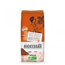 Biodyssée - Café moulu 100% moka Ethiopie pure origine 250g
