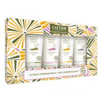 Cattier - Coffret masques à l'argile 4x30ml