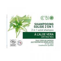 Ce'BIO - Shampoing solide 2en1 Aloe Vera 85g