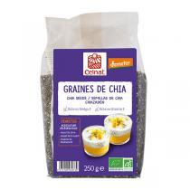 Celnat - Graines de chia complètes Demeter 250g