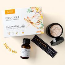 Coscoon - Mini coffret cosmétique DIY Gommage visage
