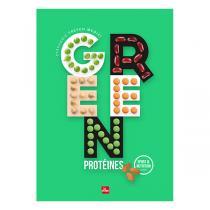 Editions La Plage - Green protéines - Livre de Stéphanie Tresch Medici