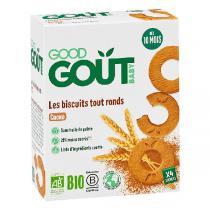 Good Gout - Biscuits tout ronds cacao 80g - Dès 10 mois