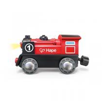 Hape - Locomotive électrique rouge - Dès 3 ans