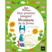 Hatier Jeunesse - Mon premier imagier Montessori de la ferme - Dès la naissance