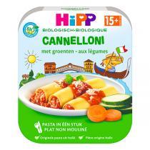 HiPP - Cannelloni aux légumes 250g - Dès 15 mois