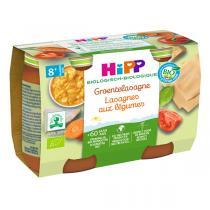 HiPP - Lasagnes aux légumes 2x190g - Dès 8 mois