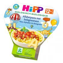 HiPP - Pâtes alphabet à la bolognaise 230g - Dès 12 mois