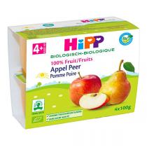 HiPP - Pomme poire 4x100g - Dès 4 mois