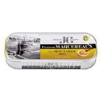 Jacques Gonidec - Filets de maquereaux à la moutarde 169g
