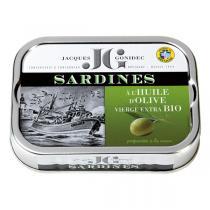 Jacques Gonidec - Sardines à l'huile d'olive 115g