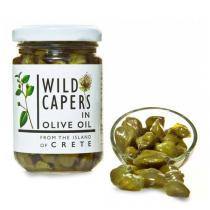 Karpos - Câpres sauvages dans l'huile d'olive 140g
