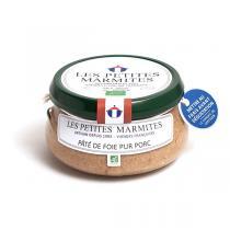 Les Petites Marmites - Pâté de foie pur porc 150g
