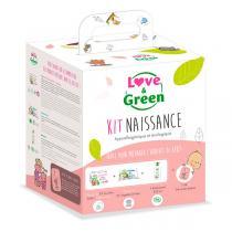 Love & Green - Kit Naissance hypoallergénique et écologique