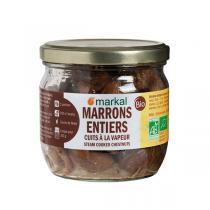 Markal - Marrons entiers naturels 210g